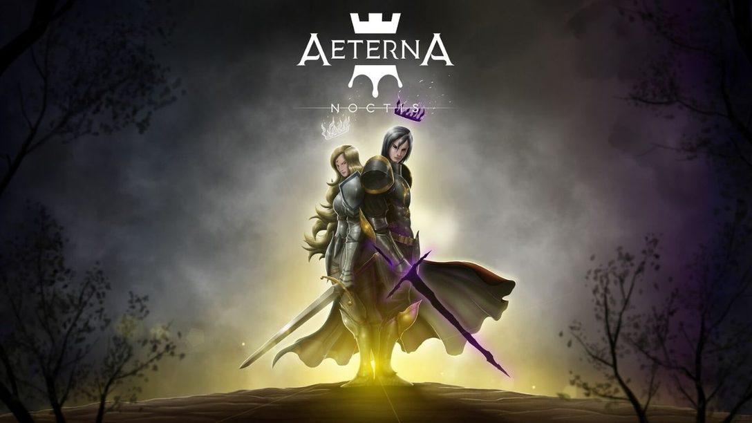 Le merveilleux Aeterna Noctis, jeu de plateforme dessiné en 2D, sortira en décembre