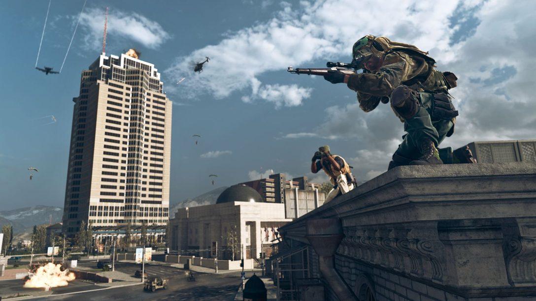 Un aperçu détaillé du Nakatomi Plaza de Die Hard, disponible dans Warzone