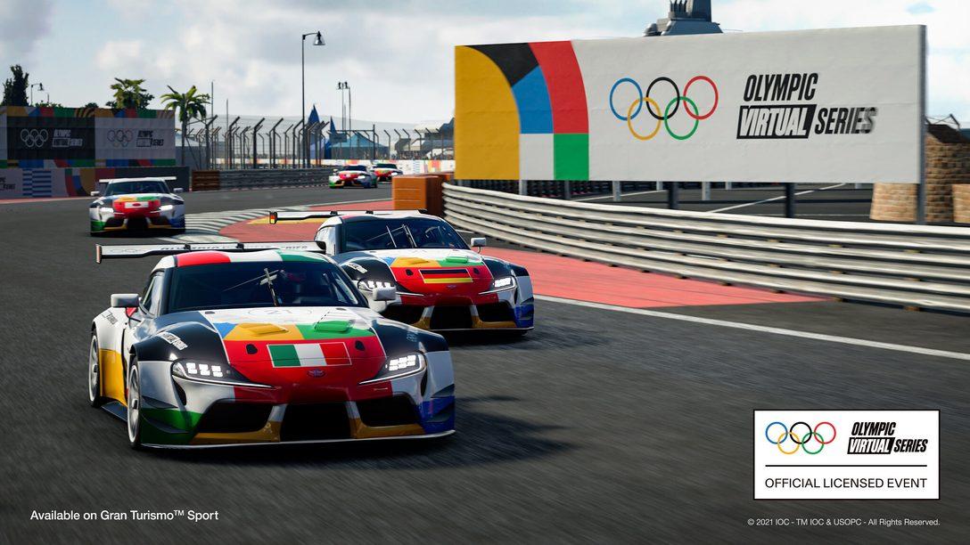 La toute première compétition de séries virtuelles olympiques de sport mécanique sera diffusée le 23 juin