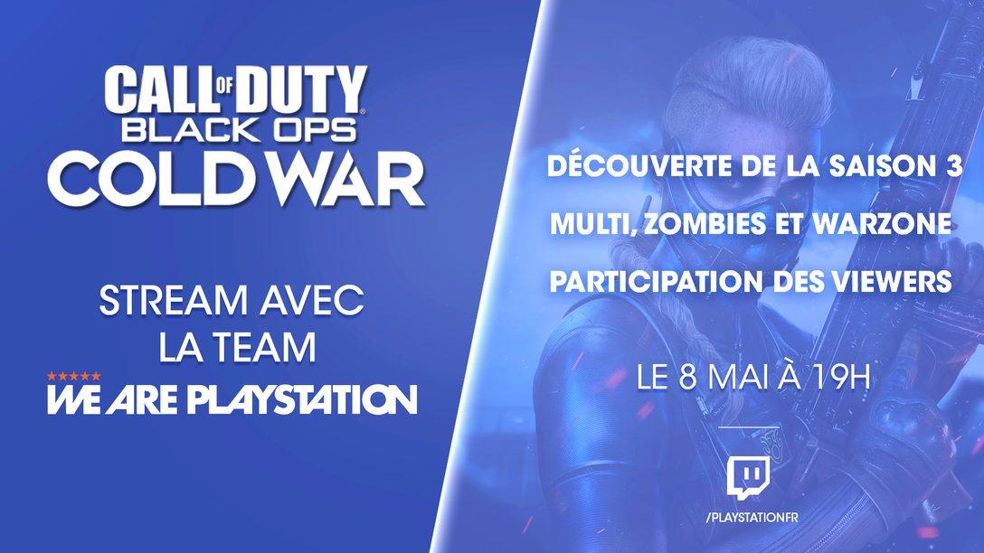 « Stream : Redécouvrir Call Of Duty : Black Ops Cold War »