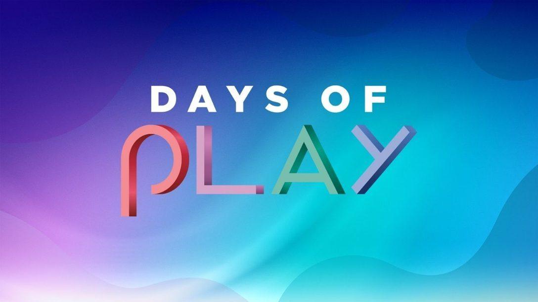 Les activités des Days of Play 2021 commencent dès aujourd'hui avec la PlayStation Player Celebration ; la période promotionnelle débutera le 26 mai