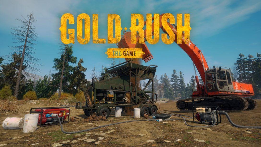 Minez de l'or et devenez riche comme Crésus dans Gold Rush: The Game, sorti le 28 mai.