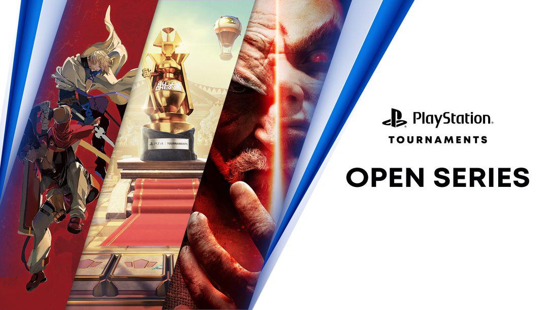 Les Tournois PS4 : Open Series proposent trois nouveaux tournois supplémentaires.