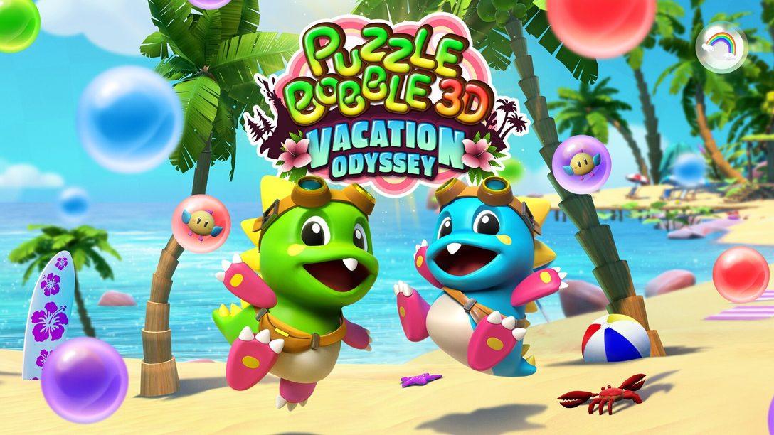 Cette année, Puzzle Bobble 3D: Vacation Odyssey va offrir une nouvelle dimension au jeu de puzzle sur PS VR, PS4 et PS5