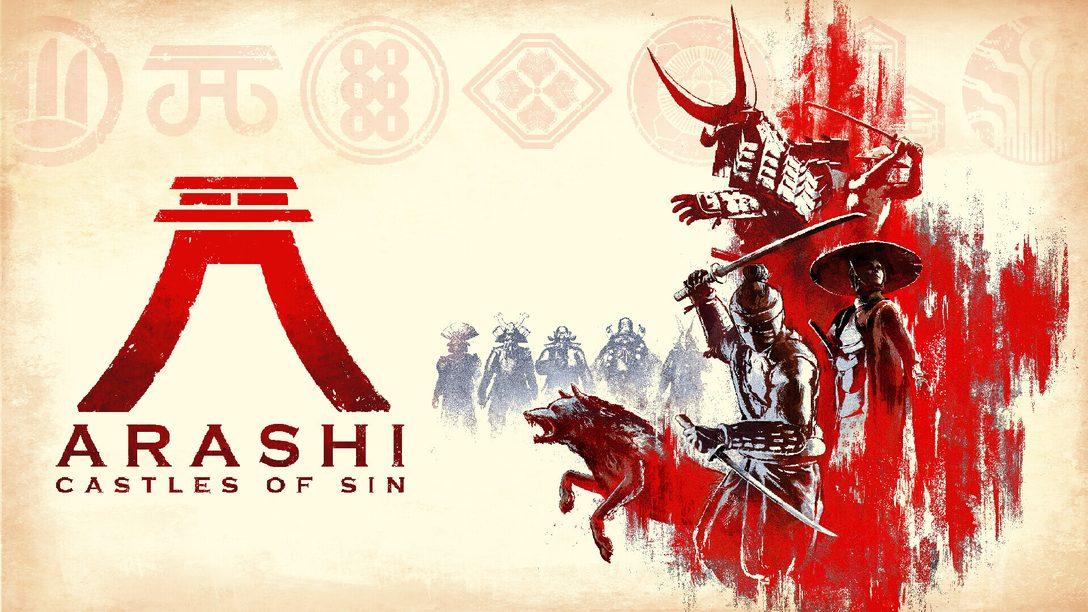 Incarnez un ninja dans Arashi: Castles of Sin, un jeu d'action furtive en mode sandbox