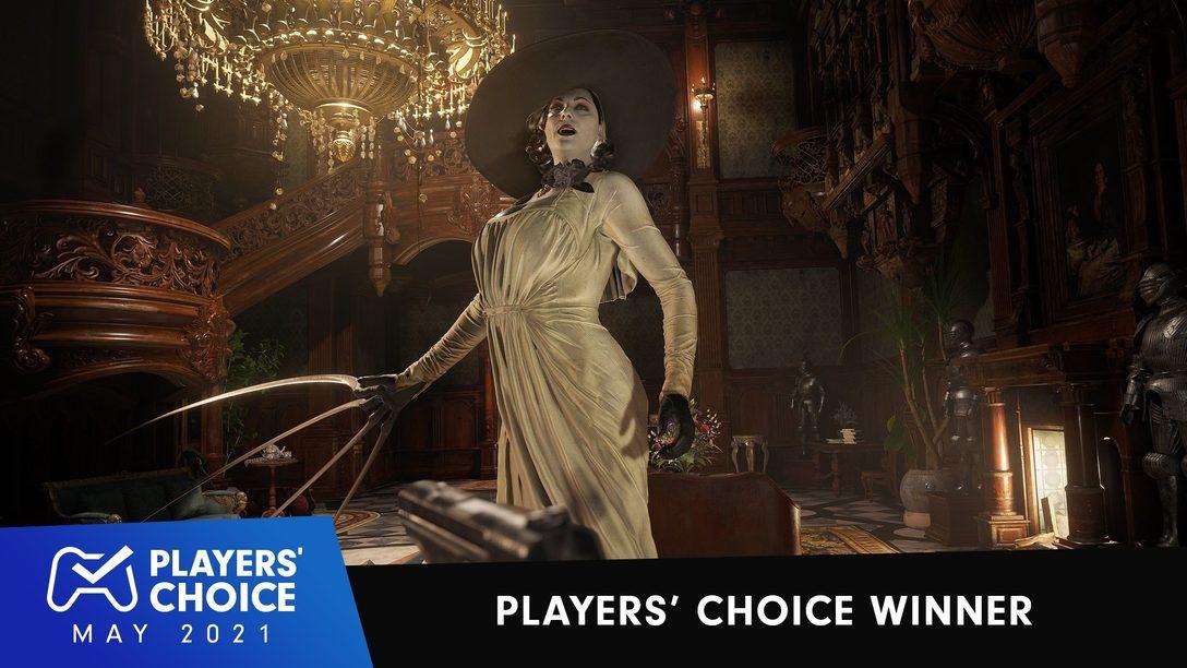 Choix des joueurs : Resident Evil Village élu meilleur jeu du mois de mai 2021