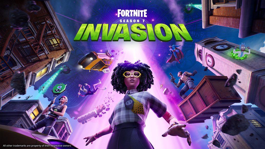 Battez-vous au milieu du chaos cosmique dans Fortnite Chapitre 2 – Saison 7 : Invasion