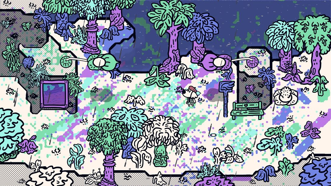 La fabuleuse ambiance sonore de Chicory:  A Colorful Tale