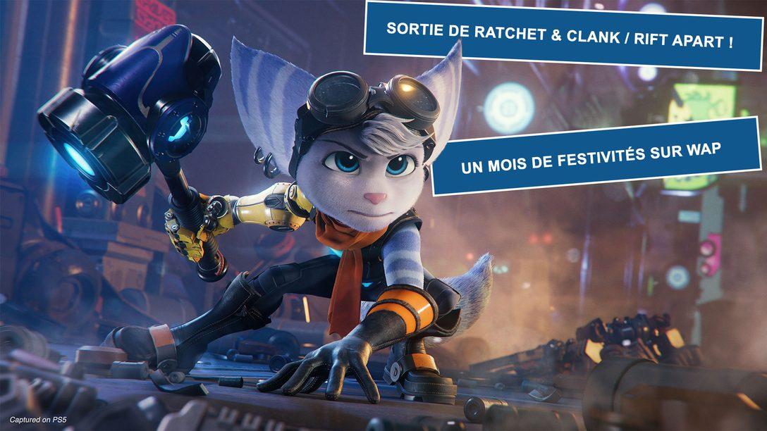Explorez les mondes de « Ratchet & Clank : Rift Apart » avec la communauté We Are PlayStation