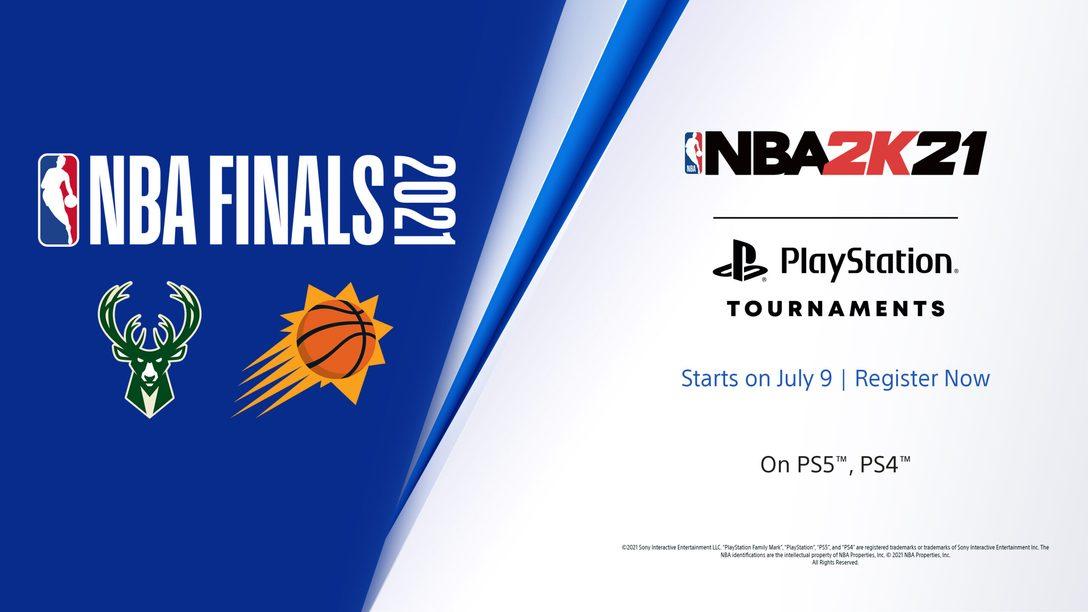 Visez la gloire avec les tournois PlayStation de NBA 2K21 : Finale de la NBA