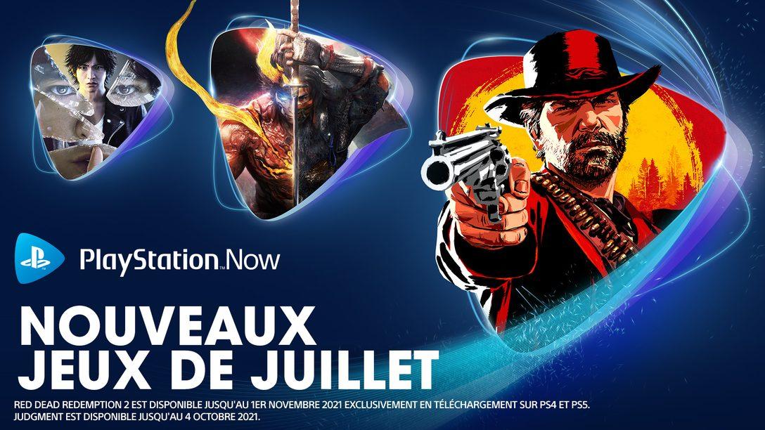 Les jeux PlayStation Now du mois de juillet : Red Dead Redemption 2, Nioh 2, Judgment