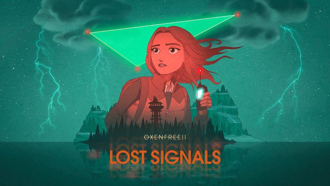Incarnez Riley pour découvrir ce qui se trame dans OXENFREE II: Lost Signals, bientôt disponible sur PlayStation