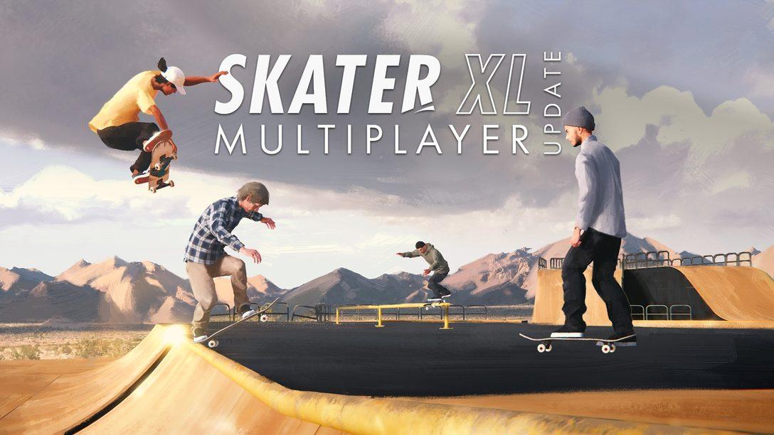 Lancement du mode multijoueur en ligne Free Skate de Skater XL aujourd'hui