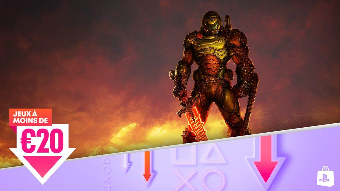 La promotion « Jeux à moins de »arrive sur le PlayStation Store