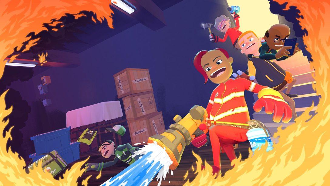 Jouez aux apprentis pompiers dans Embr, un jeu multijoueur effréné disponible dès demain