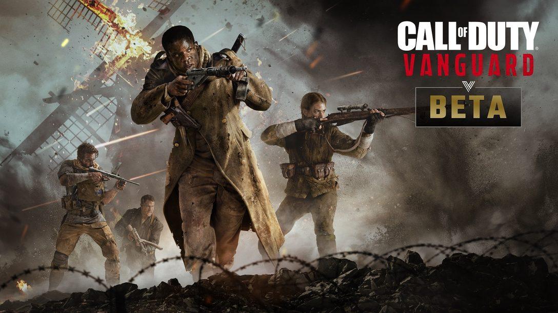 Annonce et bêta multijoueur de Call of Duty®: Vanguard, disponible en premier sur PlayStation®