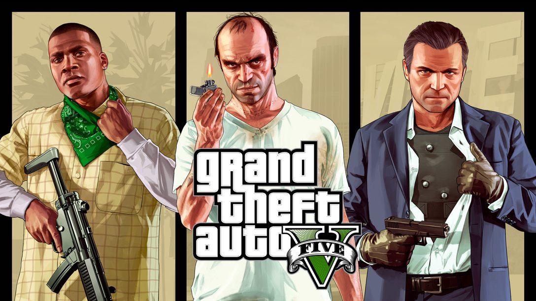 GTA V et GTA Online arrivent sur PS5 en mars 2022