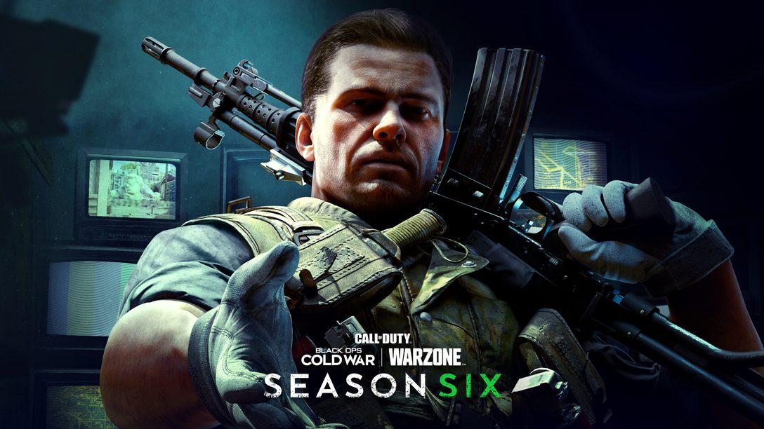 La Saison 6 de Call of Duty: Black Ops Cold War et Call of Duty: Warzone démarre le 7 octobre