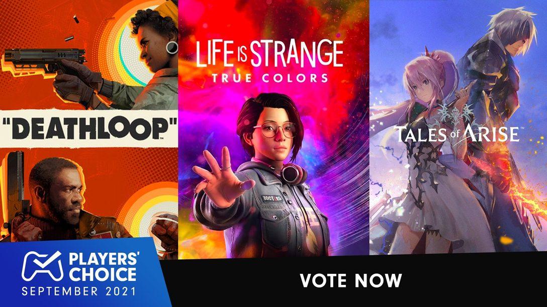 Choix des joueurs : votez pour le meilleur jeu de septembre 2021
