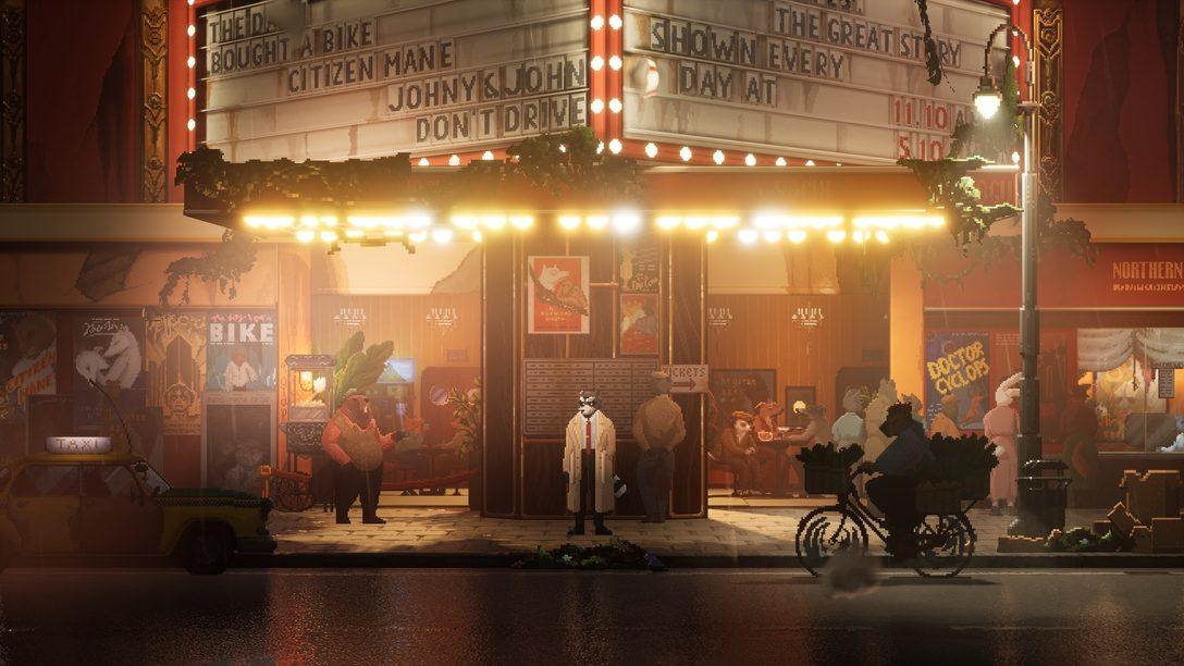 La création du monde anthropomorphique de Backbone, demain sur PS4 et PS5