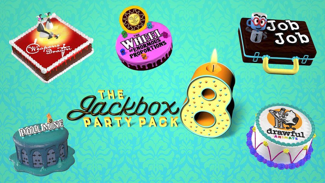 L'inspiration à l'origine des nouveaux jeux dans The Jackbox Party Pack 8